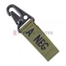 CONDOR 239A- Blood Type Key Chain A-