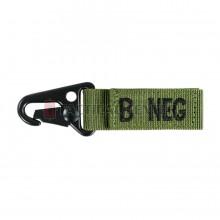 CONDOR Blood Type Key Chain B NEG