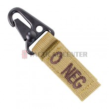 CONDOR 239O- Blood Type Key Chain O-