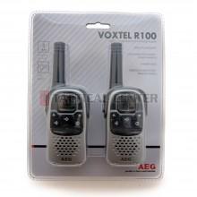 AEG Voxtel R100 PMR (Walkie Talkie 446 MHz) (x2)