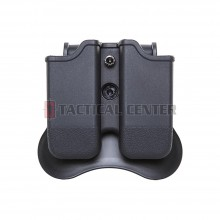 AMOMAX AM-MP-G3 Double Magazine Pouch - Glock
