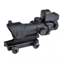 AIM-O ACOG Style 4X32 Scope Red/Green Reticle + Mini Red Dot