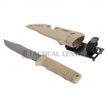 EMERSON GEAR BD7870 Dummy M37-K Seal Pup Knife + Plastic Cover