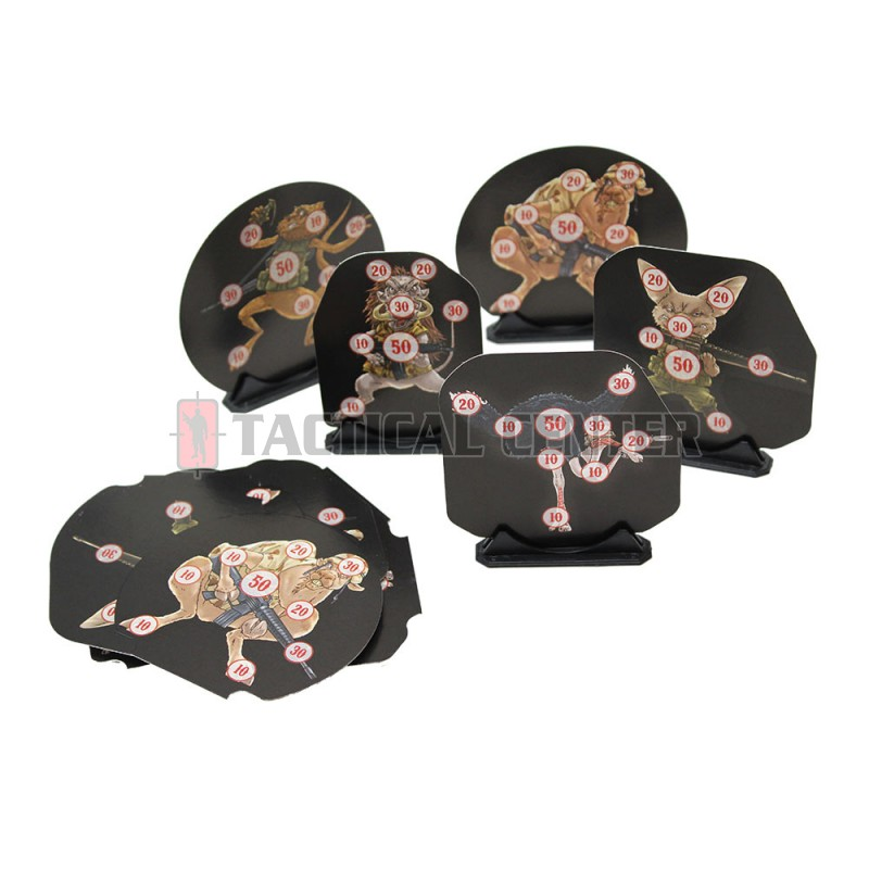 DAGRECKER DG008 Shaped Targets 25 Military