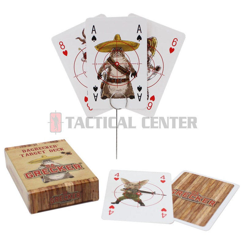 DAGRECKER DG014 Card Game With Iron Nails