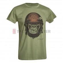 D.FIVE DF5-F61430-8 T-Shirt Monkey with Helmet