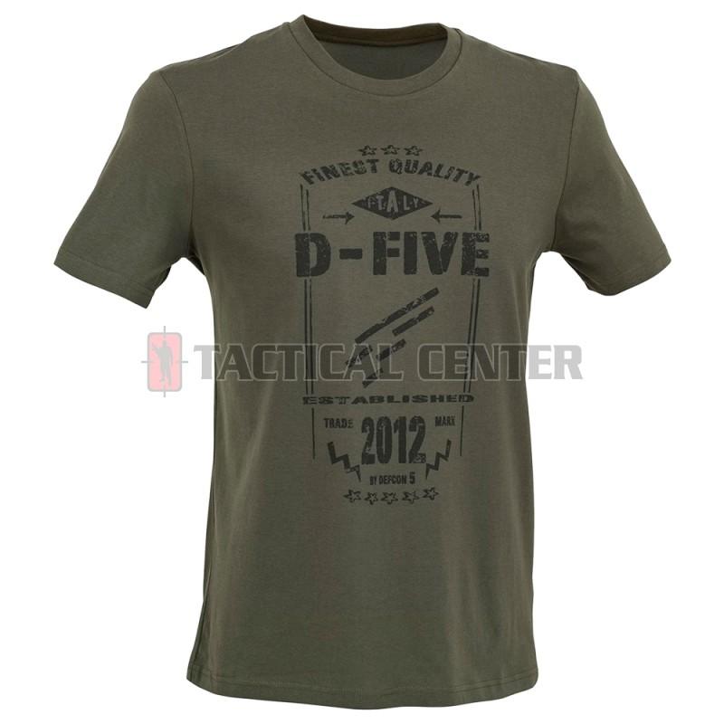 D.FIVE DF5-TFL01 T-Shirt Front Logo