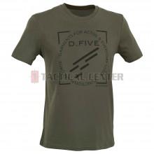 D.FIVE DF5-TFL02 T-Shirt Front Chest Logo