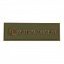 TACTICAL CENTER DP-PVC-002 PVC Patch 75 x 21.5 mm