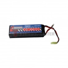 DRAGONPRO DP-F9-006 9.9V 3800mAh 25C LiFePO4 (1) 132x43x27mm