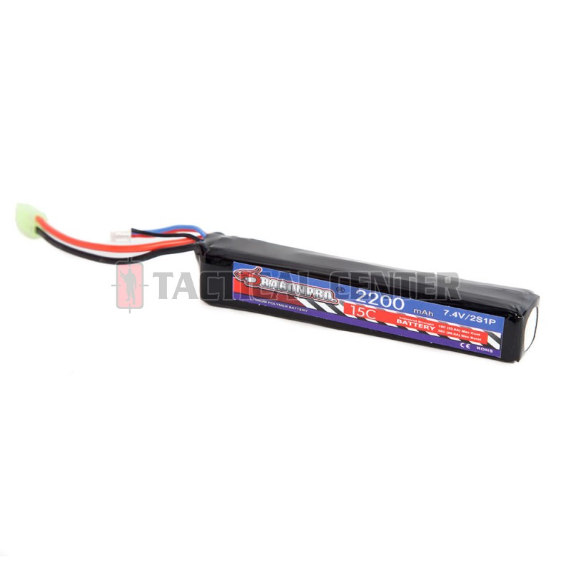 DRAGONPRO DP-L7-009 7.4V 2200mAh 15C LiPO (1) 126x21x19mm