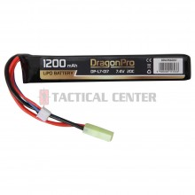 DRAGONPRO DP-L7-017 7.4V 1200mAh 20C LiPO 128x21x13mm