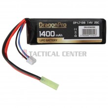 DRAGONPRO DP-L7-018 7.4V 1400mAh 25C LiPO 94x31x13mm