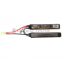 DRAGONPRO DP-L7-026 7.4V 2000mAh 20C LiPO (1+1) 128x21x12.5mm