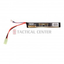 DRAGONPRO DP-L11-015 11.1V 1300mAh 20C LiPO 130x21x18mm