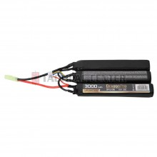 DRAGONPRO DP-L11-016 11.1V 3000mAh 20C LiPO (1+1+1) 128x21x17.5mm