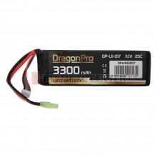 DRAGONPRO DP-L11-017 11.1V 3300mAh 25C LiPO 135x43x18mm