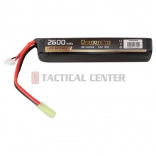 DRAGONPRO DP-L11-026 11.1V 2600mAh 20C LiPO 128x21x34mm