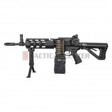 G&G CM16 LMG Stealth AEG EGC-16P-LMG-SNB-NCM