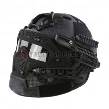 EMERSON GEAR EM9197 G4 PJ Helmet + Protective Full Mask Goggles