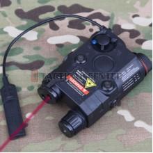 EMERSON GEAR EM9252 PEQ-15 Battery Case + Laser + LED Flashlight