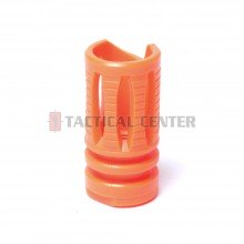 G&G Plastic Flash Suppressor for CM16 Orange (14mm CCW) / G-02-025-2