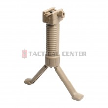 G&G SCAR Bipod Grip Desert Tan (20mm Rail Used) / G-03-105