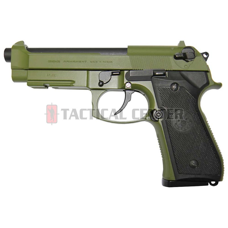 G&G GPM92 Hunter Green GAS-GPM-92F-GBB-ECM