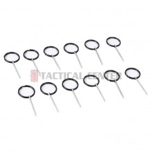 HAKKOTSU TB-P Safety Pin 12 Pcs