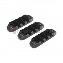 "ICS MA-363 CXP Keymod Rail Set - 45mm (2.2"") / 3 Slots"