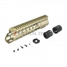 "ICS MA-378 YAK Keymod Handguard 10"" TAN"