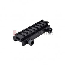 JS-TACTICAL 8 Slot Weaver Rail 1/2 Inch Riser