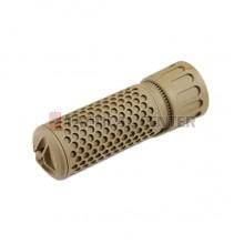 MADBULL KAC QDC CQB Suppressor 14mm CCW Tan