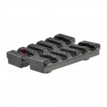 MADBULL Strike Industries Polymer 5 Slot KeyMod Short Rail Section x2