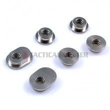 MODIFY Stainless Bushing for P90/M1A1 w/ Double Oil Tank (6 pcs)