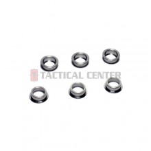MODIFY Stainless Bushing for Modular Gear Set 6mm (6 pcs)