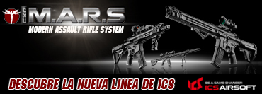 Serie ICS CXP M.A.R.S. Disponible!!!