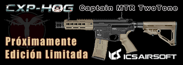 ICS CXP-HOG Captain MTR Two Tone EDICION LIMITADA